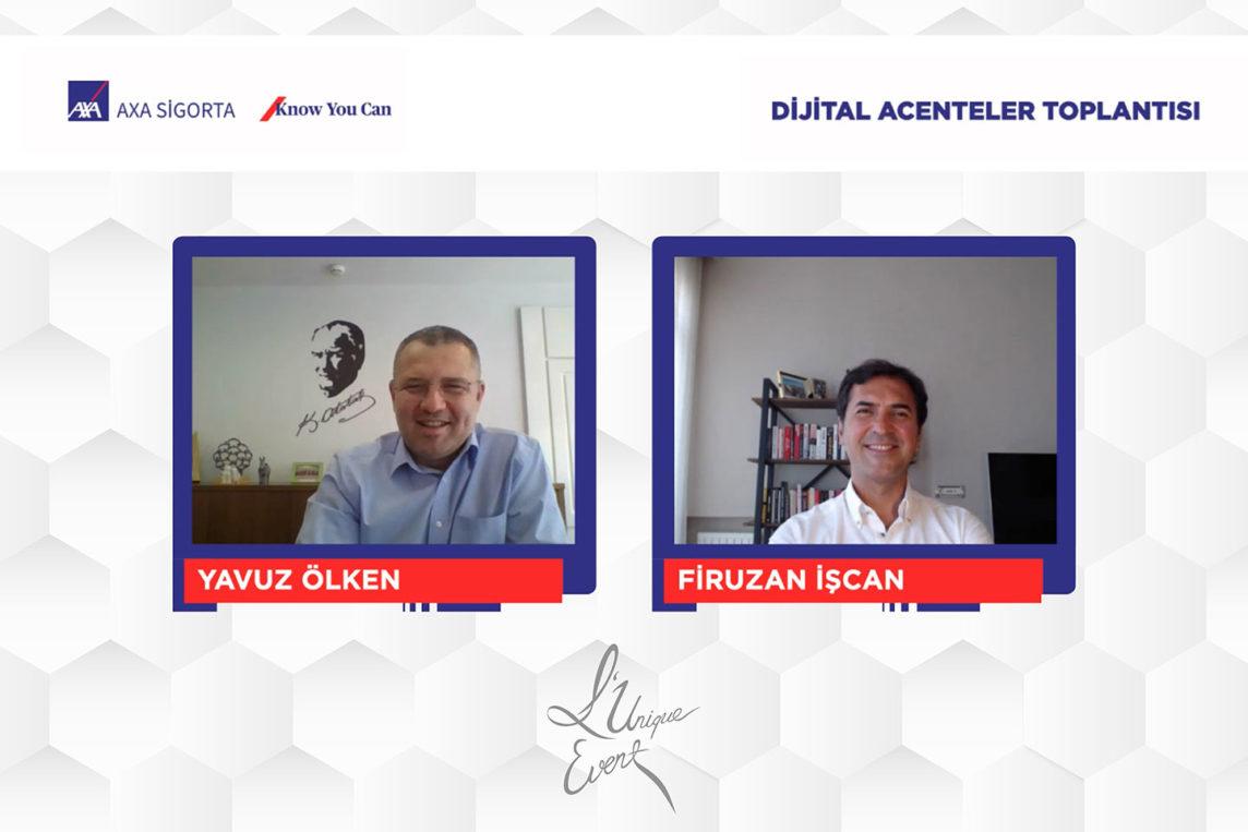 AXA Sigorta 2.Dijital Acenteler Toplantısı